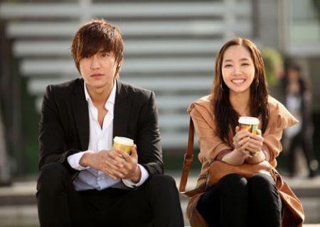 Lee Min-ho Park Min-young