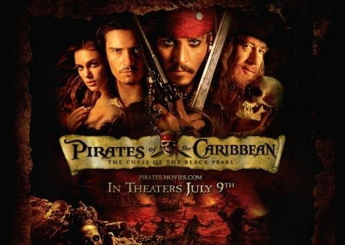 Pirates of the Caribbean The Curse of the Black Pearl 1