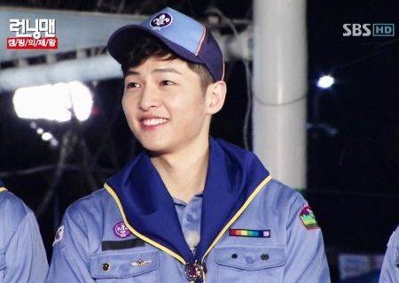 Song Joong-ki dalam Running Man