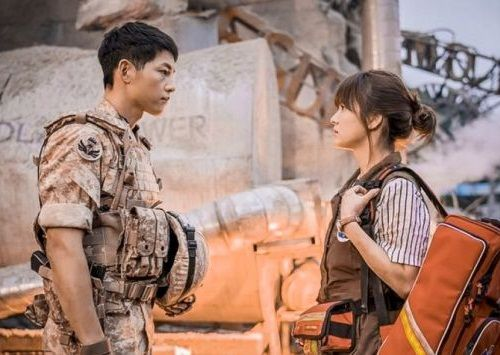 Adegan Descendants of the Sun