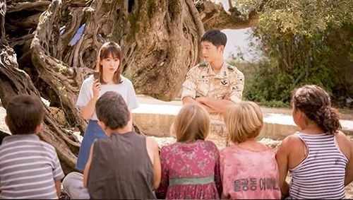Foto Adegan Drama Descendants of the Sun 4