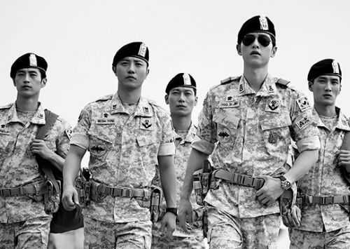 Foto Adegan Drama Descendants of the Sun