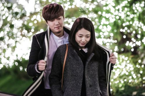 Foto Lee Min-ho dan Park Shin-hye3