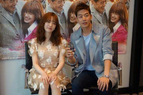 Foto Lee Sang-yoon dan Ku Hye-sun Bersama