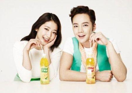 Foto Mesra Park Shin-hye dan Jang Geun-suk
