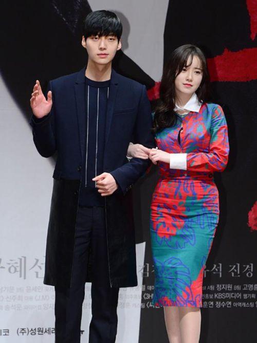 Foto Romantis Ku Hye-sun dan Ahn Jae-hyun5