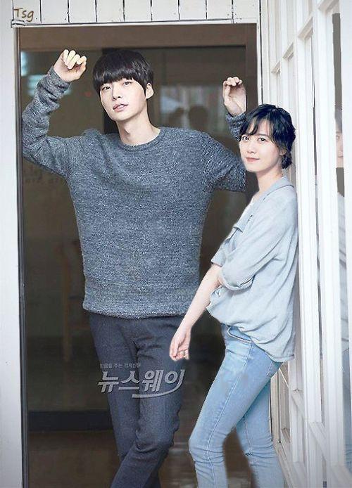 Foto Romantis Ku Hye-sun dan Ahn Jae-hyun7