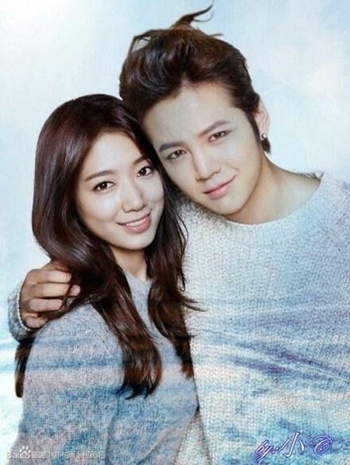 Foto Romantis Park Shin-hye dan Jang Geun-suk7