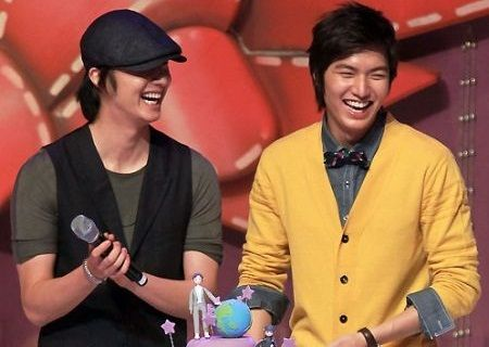 Jung Il-woo dan Lee Min-ho
