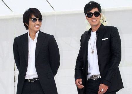 So Ji-sub dan Song Seung-heon