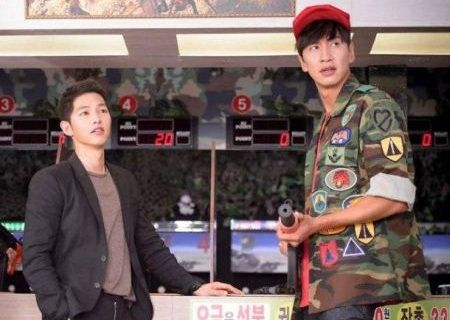 Song Joong-ki Lee Kwang-soo