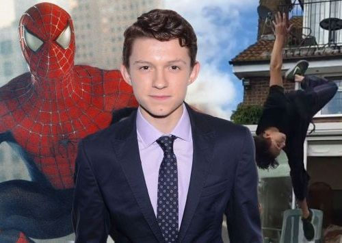 Foto Tom Holland