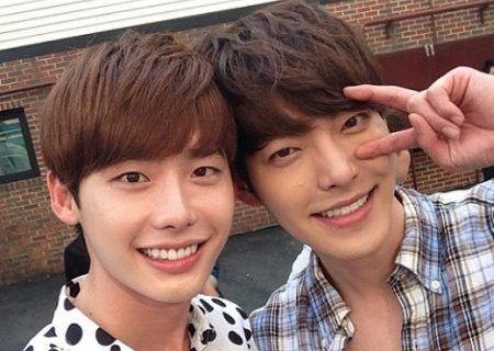 Lee Jong-suk dan Kim Woo-bin