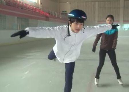 Song Joong-ki Atlet Ice Skating