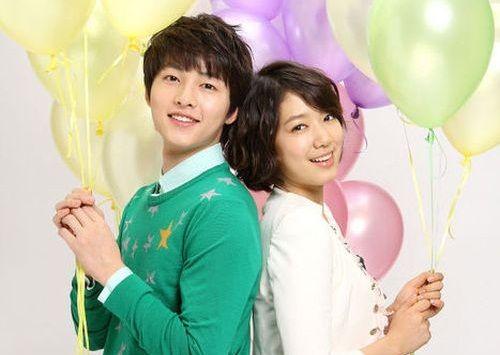 Park Shin-hye dan Song Joong-ki