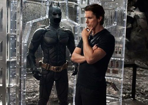 Foto C. Bale dan Batman