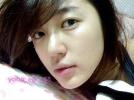 Wajah Asli Yoon Eun-hye3