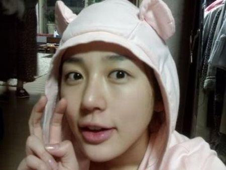 Wajah Asli Yoon Eun-hye4