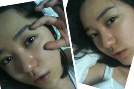 Wajah Asli Yoon Eun-hye5