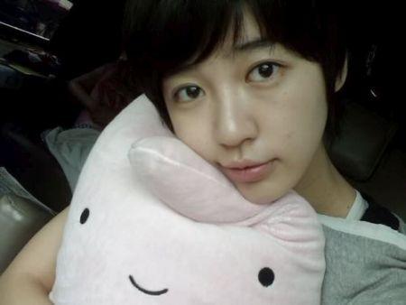 Wajah Asli Yoon Eun-hye6