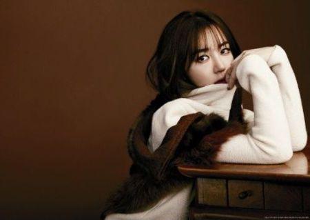 Yoon Eun-hye dengan Makeup